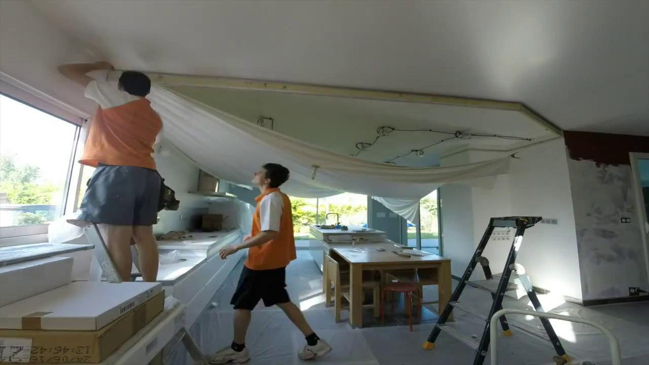 good free fabulous plafond tendu barrisol remonte with barrisol prix with plafond barrisol prix. Black Bedroom Furniture Sets. Home Design Ideas