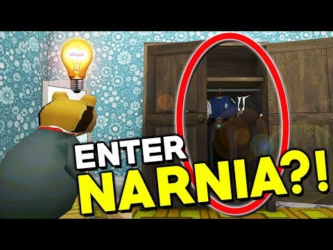 BECOMING FROG KING OF NARNIA?! | Amazing Frog ADVENTURES (Wardrobe to Narnia)