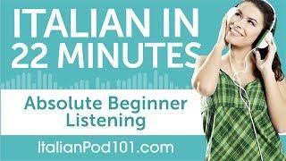 learning to speak italian