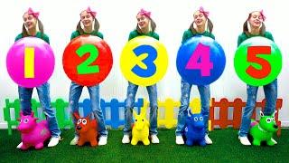 Five Little Babies  | Nursery Rhymes & Kids Songs