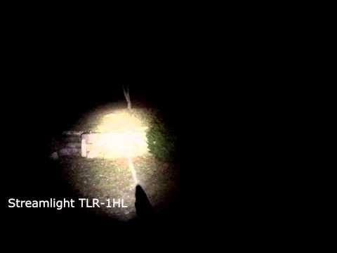 Surefire X300 Ultra & Streamlight TLR-1HL Demo/Test