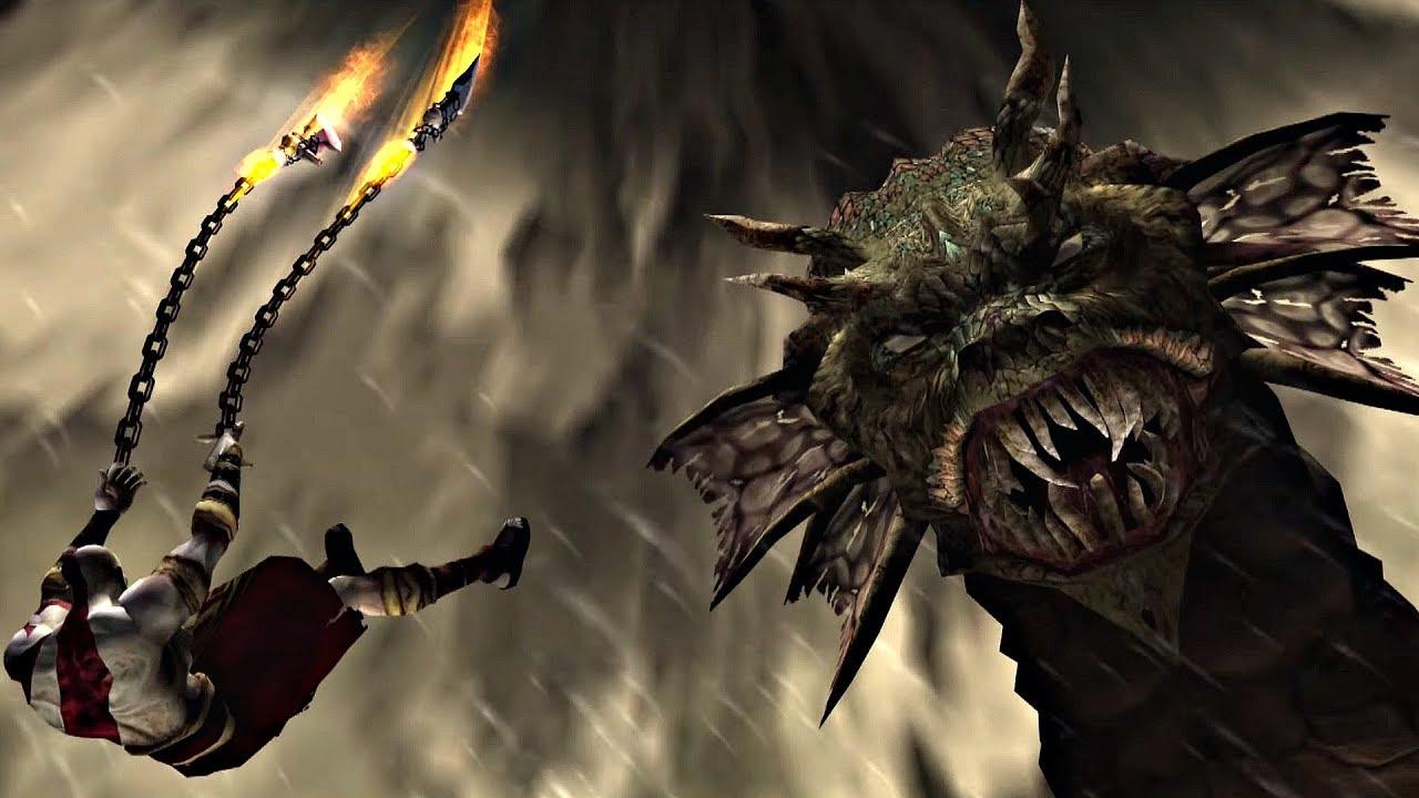 god of war 2 hydra boss