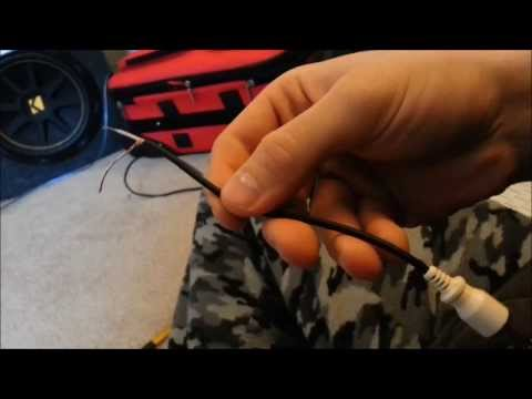 Convert regular speaker wire to RCA or monaural - YouTube