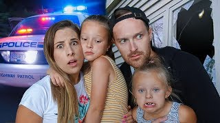 SOMEONE BROKE INTO OUR HOUSE!!! **Calling the Cops**