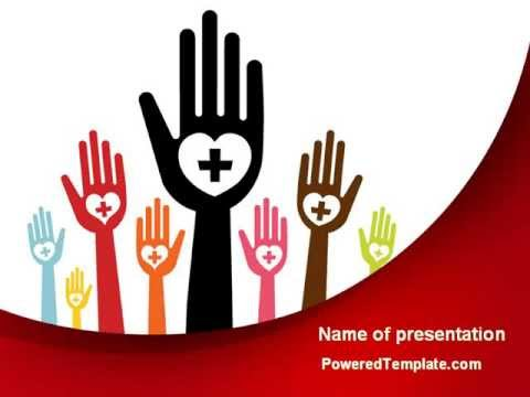 blood donor powerpoint templatepoweredtemplate - youtube, Modern powerpoint