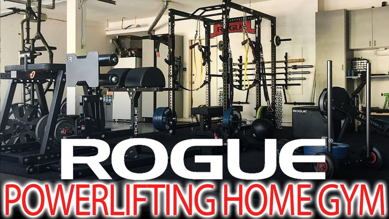 Ultimate rogue powerlifting home gym youtube
