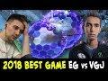 Arteezy offlane Tinker, Sumail FAIL Chronos — 2018 BEST GAME EG vs VGJ