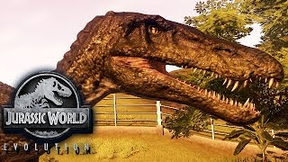 Jurassic World Evolution Gameplay German #28 - Sumpfmonster