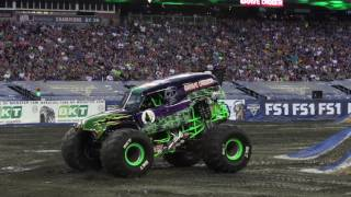 Adam Anderson and Grave Digger's Epic Save in Foxborough 2017