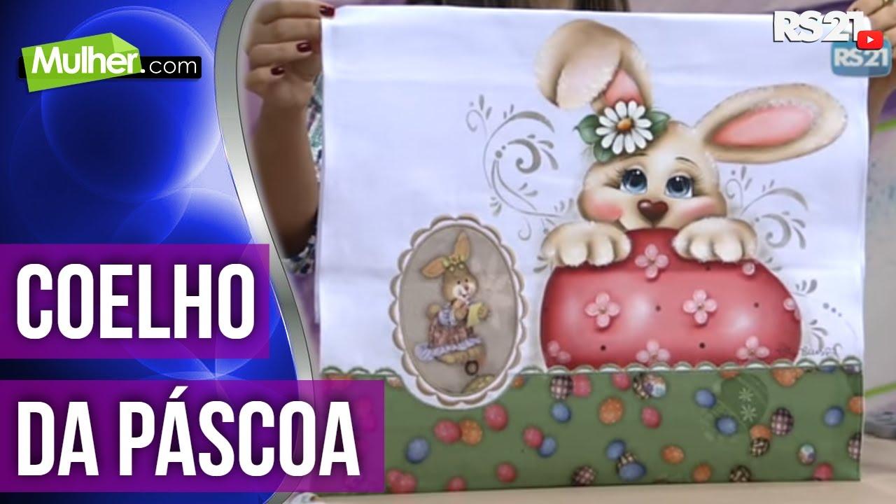 Pintura Coelho De Pascoa Por Paty Buoso