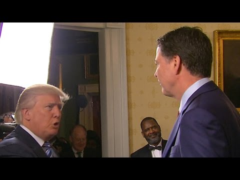 President Trump meets with law enforcement