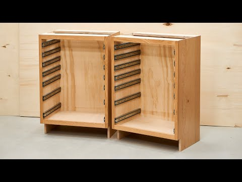 Making High Quality Cabinets - Base Cabinets - Kitchen Cabinets