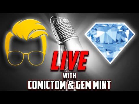 Gem Mint & ComicTom101 Live Yo!    Post-Top 10 Back Issue Comics Show!