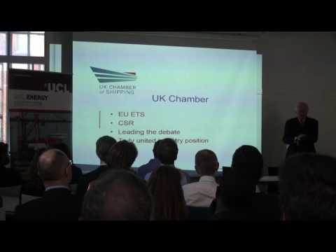 UCL-Energy Seminar: 'International shipping GHG policy post-