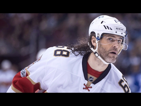 Jagr Collects His 1900th Point On His 45th Birthday