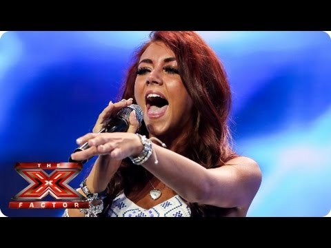 Lydia Lucy sings The Way You Make Me Feel - Arena Auditions Week 3 - The X Factor 2013