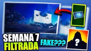 LOAD SCREEN WEEK 7 FILTERED!! REAL? ROAD TRAVEL (TEORIA) FORTNITE BATTLE ROYALE