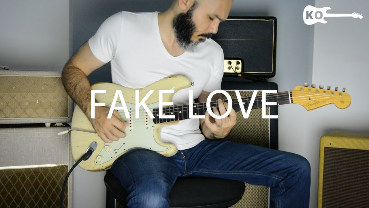 bts fake love electric guitar cover by kfir ochaion youtube. Black Bedroom Furniture Sets. Home Design Ideas