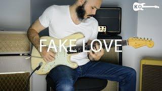 BTS  - Fake Love - Electric Guitar Cover by Kfir Ochaion