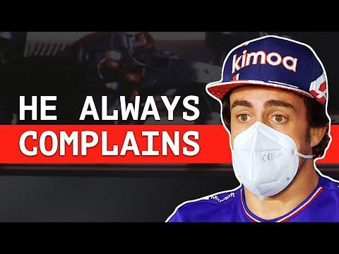 "Alonso Responds To Hamilton's ""Dangerous"" Driving Comments"