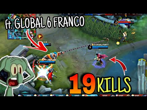 HYPERCARRY VALIR Ft. GLOBAL 6 FRANCO I C E 🔥 WOLF XOTIC | MOBILE LEGENDS