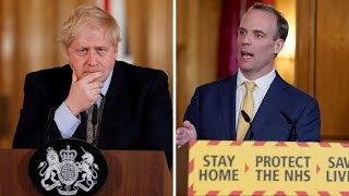 Dominic Raab sends heartfelt message to 'fighter' Boris Johnson as PM battles coronavirus