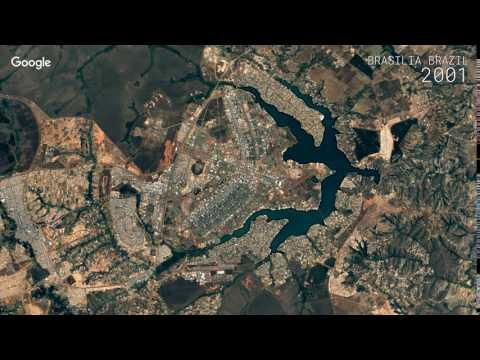 Google Timelapse: Brasilia, Brazil