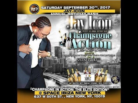 JAY ICON CHAMPAGNE IN ACTION 2017