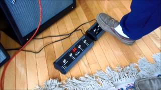 Fender Mustang III V2 - Quick Footswitch Demo