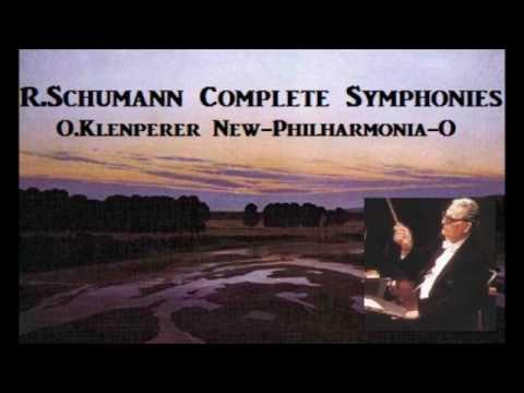 R.Schumann Complete Symphonies [ O.Klenperer New-Philharmonia-O ] (1960~69)