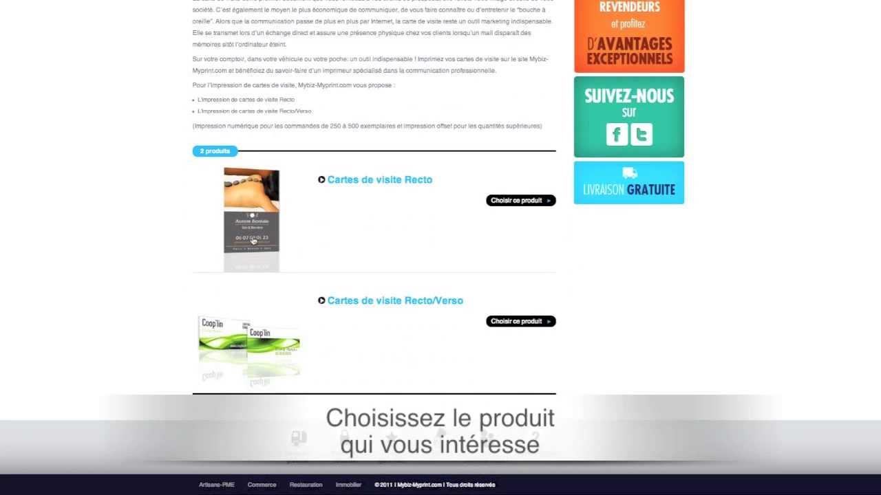 Impression Carte De Visite Nantes