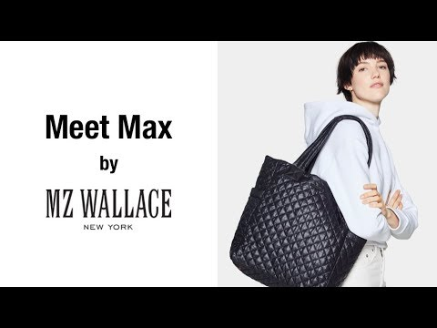Meet Max - the handbag by MZ Wallace