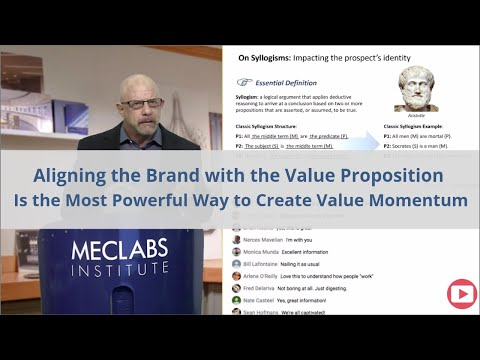 Aligning the Brand with the Value Proposition Is the Most Powerful Way to Create Value Momentum