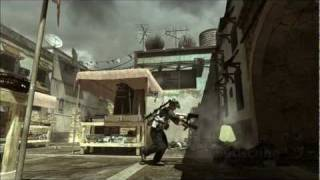 Once in a lifetime throwing knife kill !! MW3