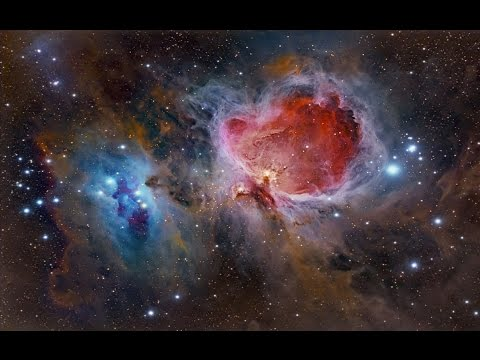 Stars, Moons, and Nebula, Space Video
