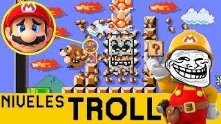 UN TROLLEO IMPRESIONANTE!! 😮 - NIVELES TROLL #6 | Super Mario Maker - ZetaSSJ