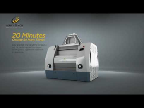Henry Simon Milling Roller Mill - Innovative Design - Since 1878
