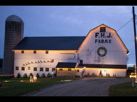 F.H.J. Farms/Hershey Family Christmas Display