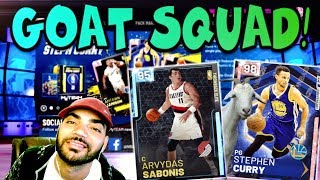 GOAT SQUAD CONTINUES GRINDING NBA 2K19 MYTEAM! NEED 750 TOKENS FOR THE NEXT GALAXY OPAL DROP!