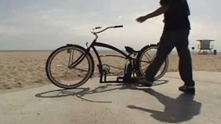 Custom Beach Cruiser Bicycle Air Ride Lowrider Bike