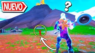 I HIDE UNDER THE VOLCANO BY BUG... I BECOME INVISIBLE!!! | FORTNITE SEASON 8
