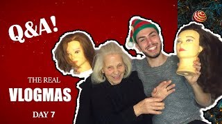 THE REAL VLOGMAS DAY 7 🥁: Q&A Με Την Γιαγιά Μου (ΤΟΥΤΟΥΛΑ) Ι Tsede The Real