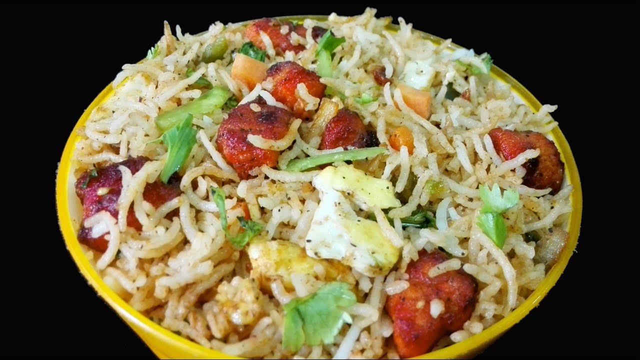 Chicken Fried Rice recipe | How to make chicken Fried Rice ...