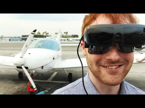 A Blind Man Flies A Plane For The First Time