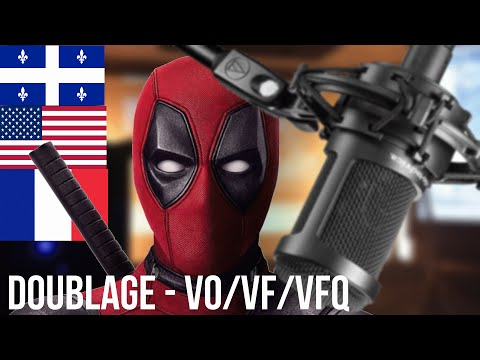 DEADPOOL : VO/VF/VFQ [COMPARAISON] Part 1