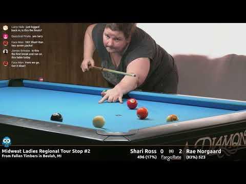 Shari Ross vs Rae Norgaard (Finals 2) - 2018 MLRT Stop #2
