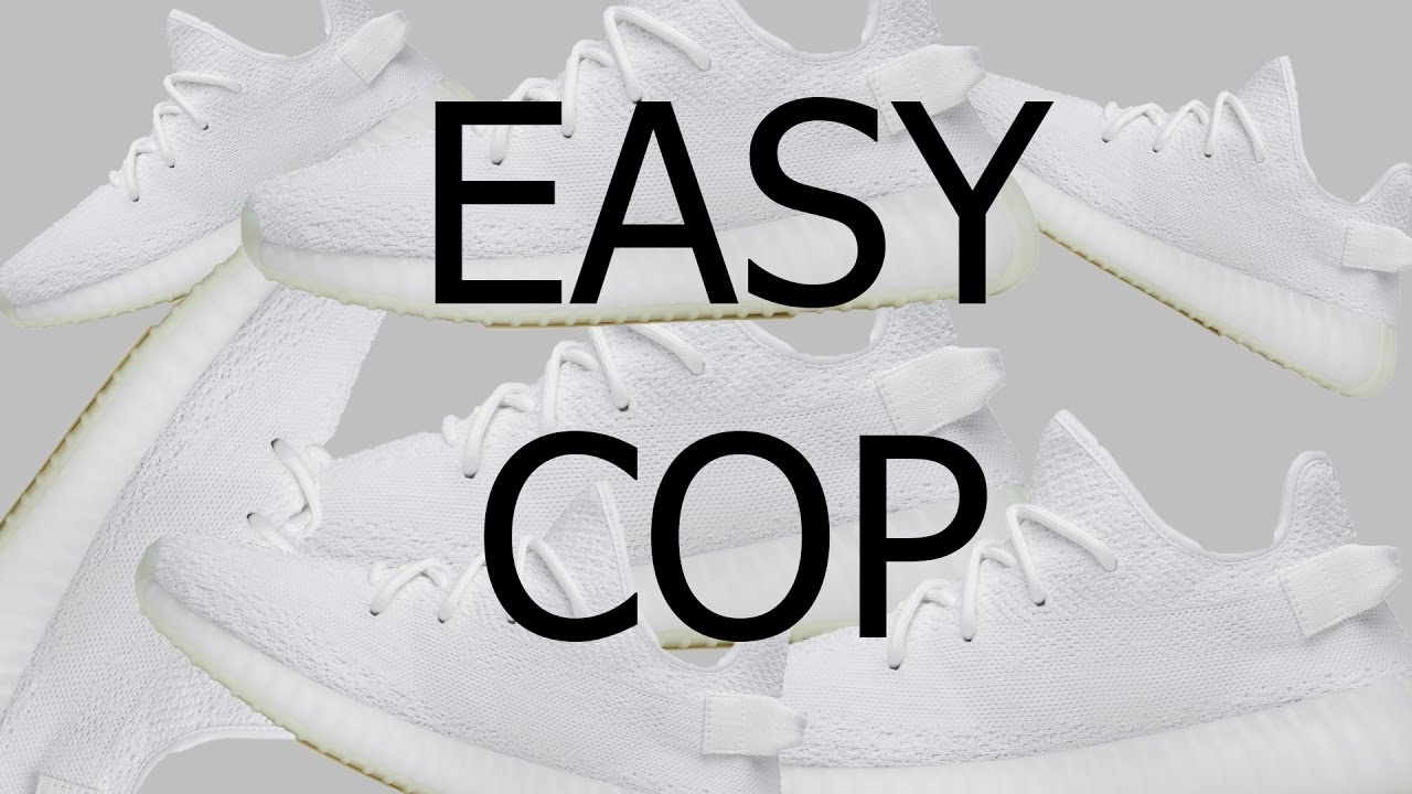 ac3e24522a69 Yeezy 350 cream white online copping without Bot - YouTube