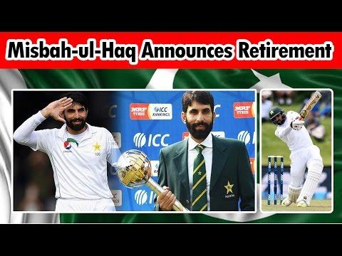 Test Captain Misbah-ul-Haq Announces retirement in Media Talk | 24 News HD (Complete)