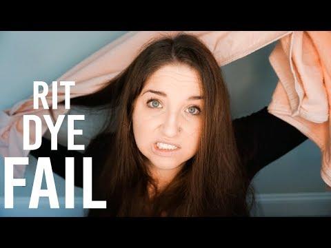 Rit Dye Fail - Story Time