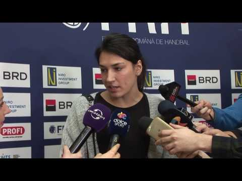 VIDEO - Declaratii Cristina Neagu